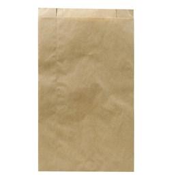 Papperspåse Plan 1,5kg 155/55x290mm Brun