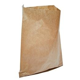 Papperspåse Plan 4,5kg 270/90x400mm Brun