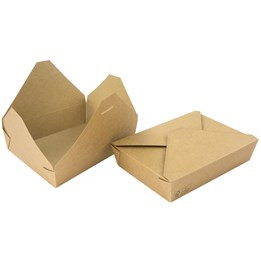 Delibox Brun 1200ml 195x140x45mm 200st/fp