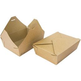 Delibox Brun 1600ml 195x140x63mm 200st/fp