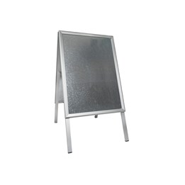 Gatuställ 50x70 Alu-Line Silver