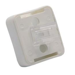 Magnetfäste 35x35mm Vit
