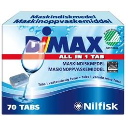 Maskindiskmedel Dimax Tablett 70st/fp