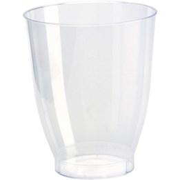 Plastglas 28cl Crystallo 30st/fp