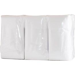 Dispenserservett Duni 33cm Vit 1-Lags Returfiber