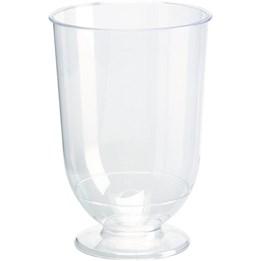 Plastglas 18,5cl Fot Vin 15st/fp