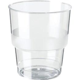 Plastglas 23,6cl Hårda 40st/fp