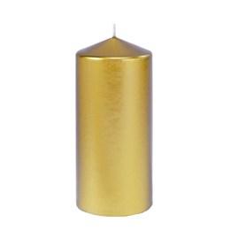 Blockljus 150x70mm Guld