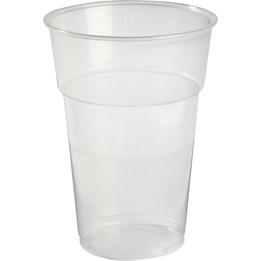 Plastglas 50cl Mjuka Ölglas 40st/fp