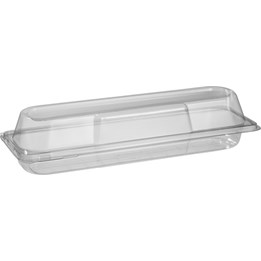 Baguetteform 324x80x75mm Transparent 250st/fp