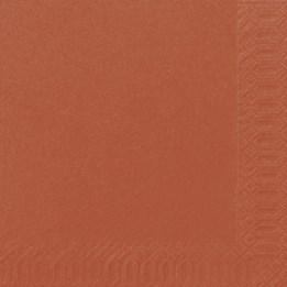 Servett 40cm 3-Lags Mandarin 125st/fp