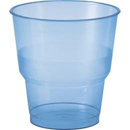 Plastglas 24cl Blå 50st/fp