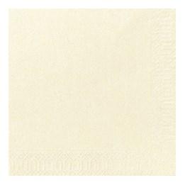Servett 24cm 3-Lags Cream 250st/fp
