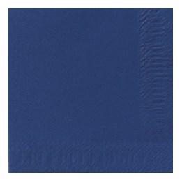 Servett 33cm 1-Lags Mörkblå 500st/fp