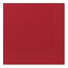 Servett 33cm 1-L Röd 500st/fp