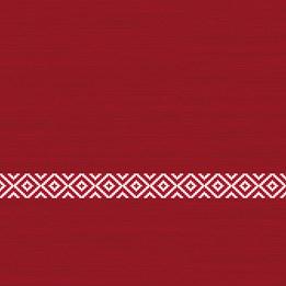 Servett 48cm D-lin Winter Feeling röd 40st/fp