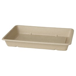 Box Bagasse 850ml 40st/fp Lock 40201028