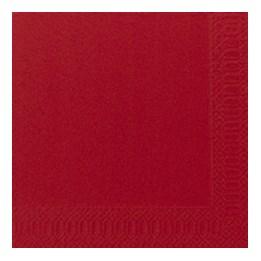 Servett 33cm 3-Lags Röd 125st/fp