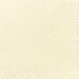 Servett 40cm 3-Lags Vanilj 125st/fp