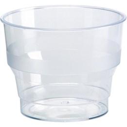 Plastglas 10cl Hårda 50st/fp