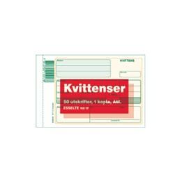 Kvittenser A6L Kopia 2x50 Blad