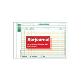 Körjournal A5L Kopia 2x50 Blad