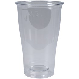 Plastglas 30cl PET 50st/fp