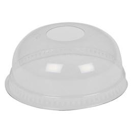 Kupollock Med Hål 100st/fp Plastglas Smoothie 30/40/50cl