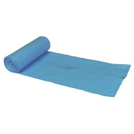 Plastsäck 120L Blå 760x1030x0.035 10/rl