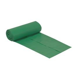 Plastsäck 125L Grön 750x1150xx0.035 10/rl