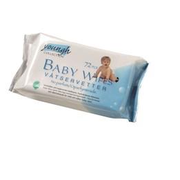Våtservett Baby 17x20cm Utan parfym 72st/fp