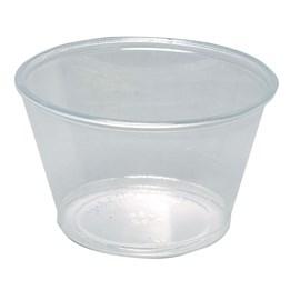 Plastbägare Klar PET 113ml 125st/fp
