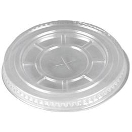 Lock Platt Plastglas Med Hål 100st/fp Plastglas 30/40/50cl
