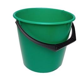 Hink 10L Rund Grön Med Plastgrepp Ø275x265mm