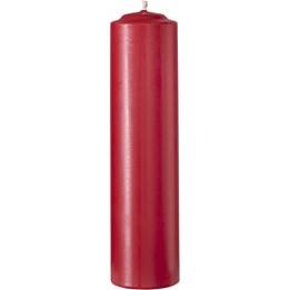 Gilleljus 200x52mm Röd Stearin 31,5h