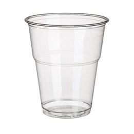 Plastbägare 30cl Klar Pure Transparent 70st/fp PLA