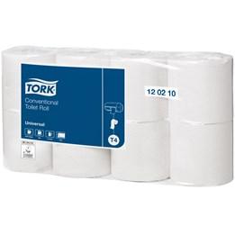 Toalettpapper Tork Universal T4 2-Lager 36m/rl  64rl/fp