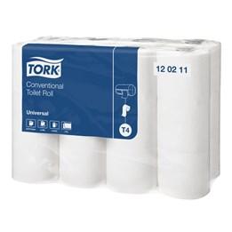 Toalettpapper Tork Universal T4 2-Lager 38m/rl  24rl/fp