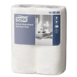 Hushållspapper Tork Premium Extra Plus Dekor 2-Lager 15m/rl  24rl/fp