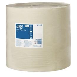 Torkrulle Tork Industri Basic Universal 33cm x  1190m 1-Lager Gul W1