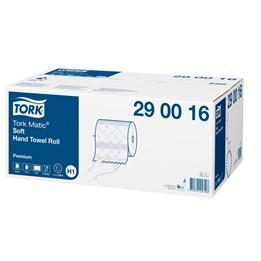 Handtorkrulle Tork Premium Matic Mjuk H1 2-Lager 100m/rl  6rl/fp