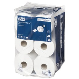 Toalettpapper Tork Advanced Mini T9 2-Lager