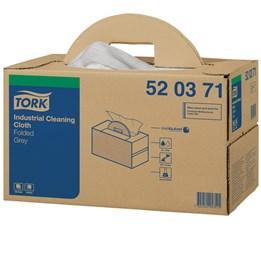 Torkduk Tork Premium Industri 43x35cm Grå 1-Lager W7 Flexibel 280st/fp