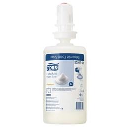 Tvål Skum Tork Premium Extra Mild S4 1L