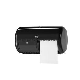 Dispenser Tork Toalettpapper Twin T4 Plast Svart