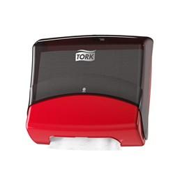 Dispenser Tork Torkdukar Industri Röd/svart W4
