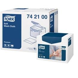Tvättlapp Tork Premium 19x30cm Dekor 1-Lager