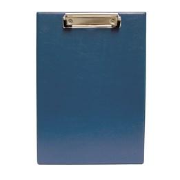 Skrivplatta A4 Enkel Med Klämma Blå