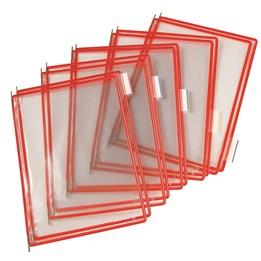 Ram Tarifold A4 Röd Pp 10-P