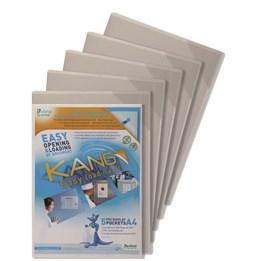Plastficka Kang A4 Magnetisk Tr Pvc 5-P